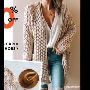 Chunky Sweater Cardigan